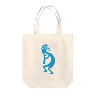 ココペリ Tote bags