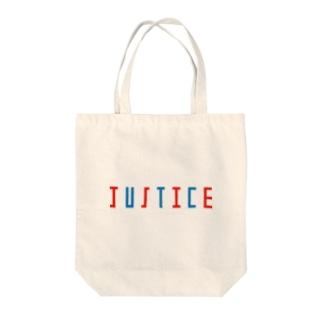 正義を持ち歩こう Tote bags