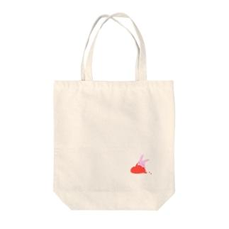 おきもちうさぎ Tote bags