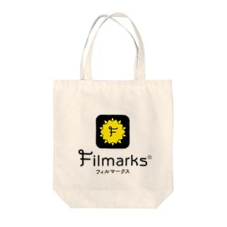 白トート 縦ロゴ Tote bags