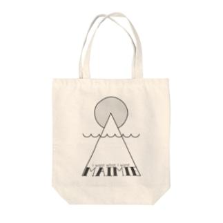 maimieハレの日(黒ロゴ) トートバッグ