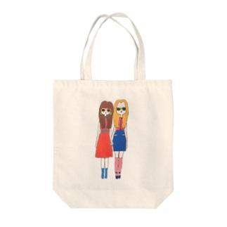 双子ちゃん Tote bags
