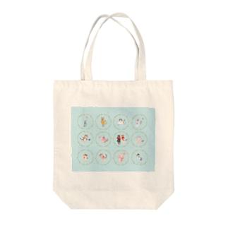 【HappyUnbirthday!2ndmember】 Tote bags