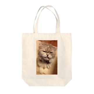 もきゅもも② Tote bags