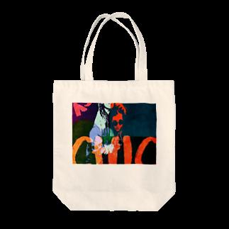 NAOKI1220の Liberオリジナルロック Tote bags