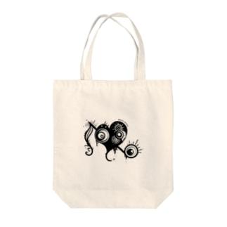 はーと×おんぷ Tote bags