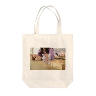 カフェフォト Tote bags