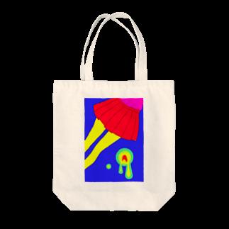 piorのスカート(ビビット) Tote bags