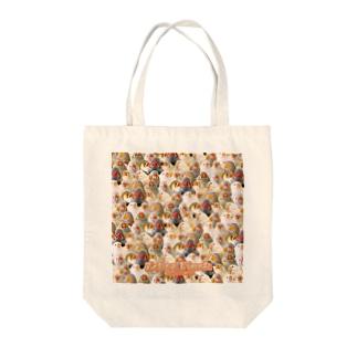 トラウマキンカ Tote bags