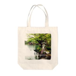 兼六園 Tote bags