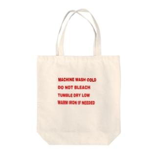 洗濯表示 Tote bags