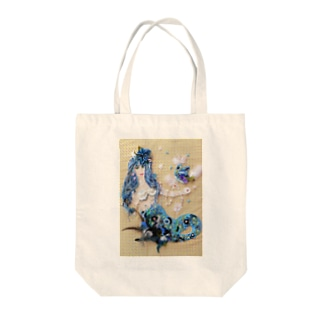 Ton sourire me rend heureuse あなたの笑顔が私を幸せにするのです Tote bags