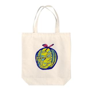 りんご B Tote bags