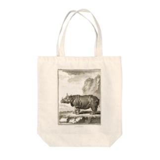 ル·ライノセラス(犀・サイ) - Getty Search Gateway Tote bags