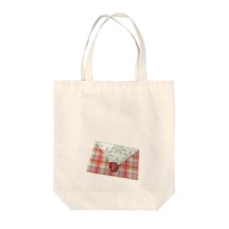 いっしょ封筒 Tote bags