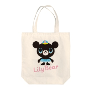 Lily Bear Tote bags