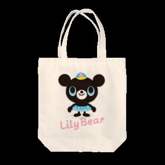 HHH WORKSのLily Bear Tote bags