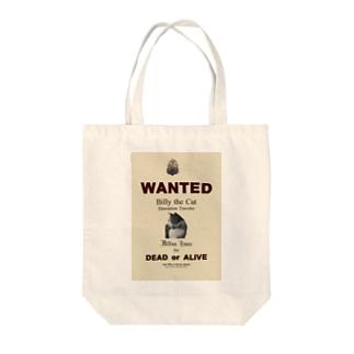 ウォンテッド:手配ポスター WANTED: Poster Tote bags