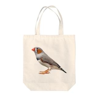 キンカチョウ Tote bags