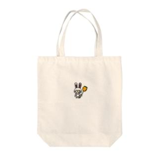 オリジモンのぴょんぽっぴん Tote bags