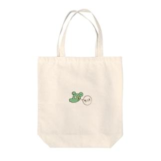 本物のキャラクター Tote bags