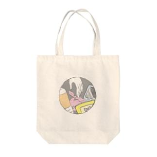 かばんのなかみ Tote bags