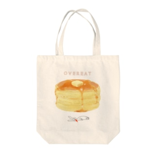 OVEREAT Tote bags
