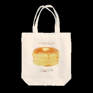 TOKO * BUSIのOVEREAT Tote bags