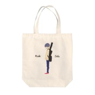 西西太オリジナルイラストトートバッグ Tote bags