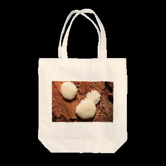 Aiko Nakanoの粘菌_ムラサキホコリ_20170823_8703 Tote bags