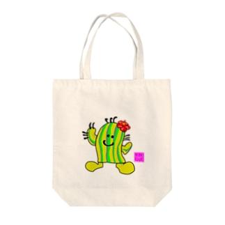 ぼてまる(全9色) Tote bags