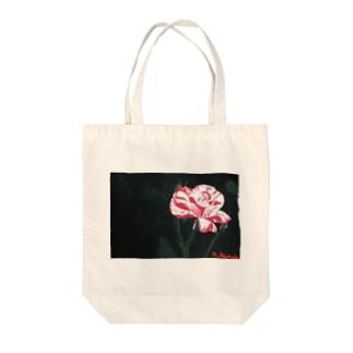 真夏の夢の薔薇 Tote bags