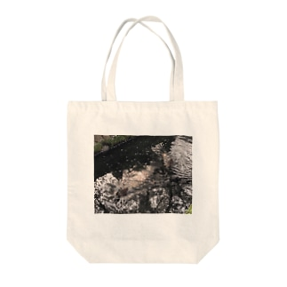 きらきらかもさん Tote bags