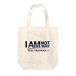 私はウェイではありません Tote bags