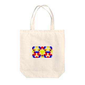パンジー Tote bags