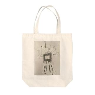 ロボット Tote bags