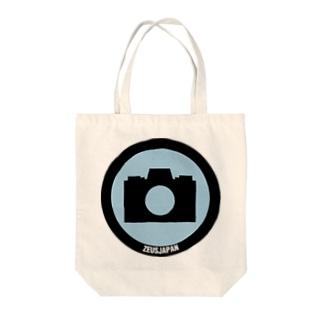 メディアポイント看板 Tote bags