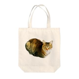 ぬこ様(渋目線) Tote bags