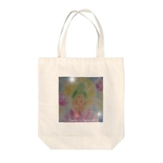 A Buddha-cha flower_mill Tote bags