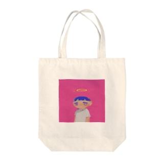 ハラホロヒレハレ Tote bags