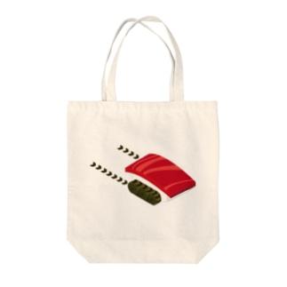 MAGURO TANK Tote bags