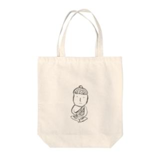 仏(無の境地) Tote bags
