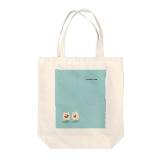 スイカサマー Tote bags