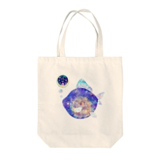 水面金魚 Tote bags