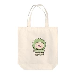 フワフワキートン Tote bags