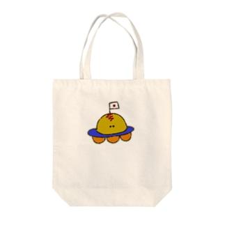 おむゆーふぉー Tote bags
