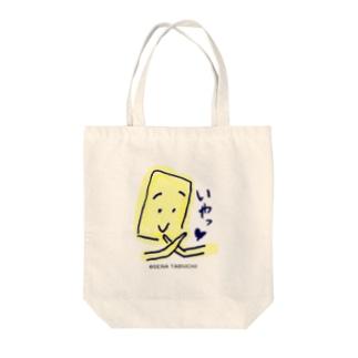 かわいく拒否する Tote bags