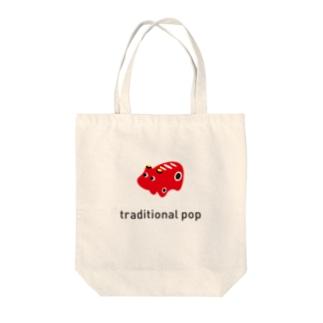赤べこ Tote bags