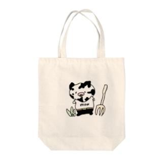 牛さんキートン Tote bags