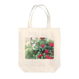 中央線中野で撮った花 Tote bags
